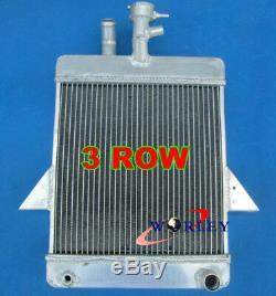 62mm Triumph Gt6 1966-1973 1967 Radiateur En Alliage D'aluminium + Ventilateur
