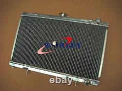 Ajustement Nissan 200sx S13 Ca18det 1.8 Turbo 88-94 Mt Radiateur En Aluminium 89 90 91 92 93