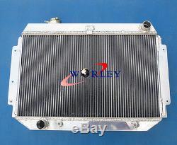 Alliage De Radiateur Et Déflecteur Et Ventilateur Holden Hq Hj Hz Hx Lh LX Kingswood Torana V8 253 308