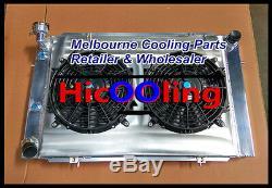 Alliage De Radiateur Et Déflecteur Et Ventilateur Holden Wb Statesman Ute Sedan 253 Et 308 V8 1980-1984