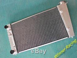 Alliage De Radiateur Vw Golf Mk1 / Caddy / Scirocco Gti Spec 1.6 1.8 En Aluminium Robuste