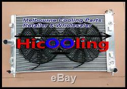 Alliage Radiateur & Fan Pour Holden Commodore Vz Gen3 Ls1 5.7l V8 Gen4 Ls2 6l Ss Hsv