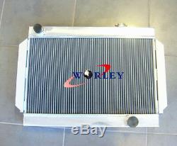 Alliage Radiateur Moteur Aluminum Holden Hq Hj Hx Hz V8 Chevy Universel