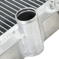 Aluminium 40mm Twin Core Track Fast Road Race Sport Diy Cooling Radiator Rad