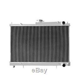 Aluminium Radiateur Convient Nissan Skyline R34 R33 Gtst Gtt Rb25det Rb26dett Rtg Mt