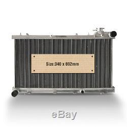Aluminium Radiateur Subaru Impreza S'intègre Sport 1.6 1.8 2.0 Gl 92-01 High Flow