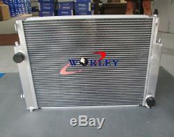 Aluminium Radiateur + Ventilateur + Capot Pour Bmw E36 M3 323 325i / IC / Is 328i / IC / Is 92-99 Mt