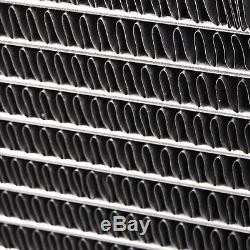 Audi A3 S3 Tt 1.8t Quattro 01-06 Radiateur De Course En Alliage D'aluminium 42mm À Double Noyau