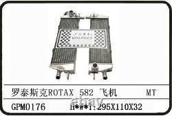 Avion Ultra-léger Rotax 582 90-99 Radiateur D'alliage Une Paire