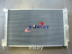 Brand New En Alliage D'aluminium Radiateur + Suaire + Ventilateur Pour Ford Falcon Ba Bf V8 Xr8 Xr6