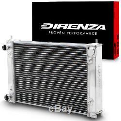 Direnza 40mm Alliage Race Radiateur Rad Pour Vw Golf Mk2 Scirocco 1.6 1.8 16v 83-92