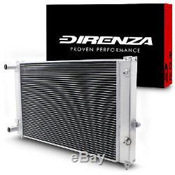 Direnza En Alliage D'aluminium Race Radiateur Rad Pour Vw Passat 1.8t 1.9tdi Vr5 Turbo