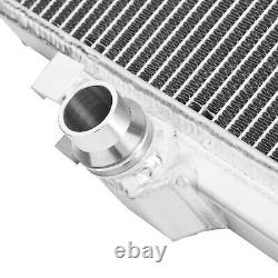 Direnza High Flow Alloy Aluminium Radiator Rad Pour Volkswagen Vw Mk7 R 2.0 Tsi