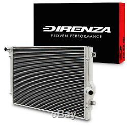 Direnza Twin Core En Alliage Race Radiateur Rad Pour Seat Leon Altea Toledo 1.6 2.0 Tdi