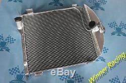 Douanes 20 Radiateur En Alliage D'aluminium De 70 MM Pour Le Modèle Ford A 1928-1929