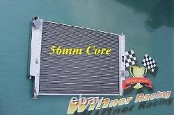 Dual Core Radiateur En Aluminium Bmw M3 E36 / Z3 / 325td 56mm De Base
