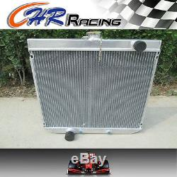 En Alliage D'aluminium De Radiateur Ford Falcon Fairlane Xy Xw 302 6cyl 69-72 Auto / Manuel