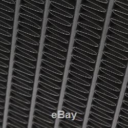 En Alliage D'aluminium Noir Race Radiateur Rad Pour Nissan 200sx S14 S14a S15 Sr20det