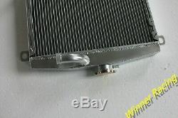Fit Alfa Romeo 105/115 Série Gt 1.3 1.6 Gtv Gtc 71-77 Radiateur Entièrement En Aluminium