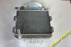 Fit Austin Healey 100-4 1953-1956 53 54 55 56 Radiateur En Aluminium Mt 56mm 2 Rangées