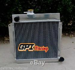 Fit Bmw E10 2002/1802/1602/1600/1502 Tii / Turbo En Alliage D'aluminium De Radiateur