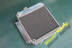 Fit Bmw E10 2002/1802/1602/1600/1502 Tii / Turbo Radiateur En Alliage D'aluminium