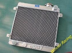 Fit Fiat Seat 128 127 1100 1300 1969-1985 Radiateur De Radiateur En Alliage D'aluminium 40mm