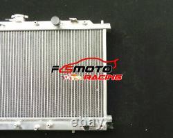 Fit For Honda CIVIC Ed Crx 1.5/1.6l I4 D15 D16 1987-1991 Radiateur En Aluminium + Ventilateur