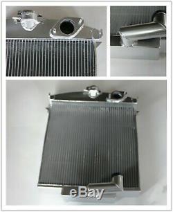 Fit Jaguar Xk120 3.4 L Xk I6 1948-1954 49 50 51 52 Radiateur Entièrement En Aluminium 70mm