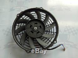 Fit Lotus Europa 1.5l / 1.6l 1966-1976 M / T En Alliage D'aluminium Radiateur + Ventilateur 86mm 3 Rangs