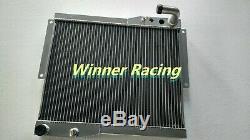 Fit Mg Mgb Gt / Roadster 1977 1978 1979 1980 En Alliage D'aluminium De Radiateur