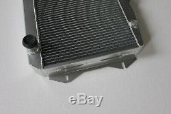 Fit Sunbeam Alpine Série V 1.7l 1725 CC I4 Radiateur En Aluminium 1965-1968 À 2 Rangées