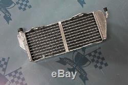 Fit Tm Racing Fr / MX 125/144/250/300 2008-2014 Radiateur En Alliage D'aluminium Braced