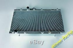 Fit Toyota Starlet Gt Turbo Ep82 / Ep91 Glanza 4e-etp M / T 40mm Radiateur Aluminum