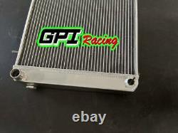 Fit Triumph Tr7 1975-1979 75 76 77 78 79 Radiateur En Alliage D'aluminium 62mm 3row