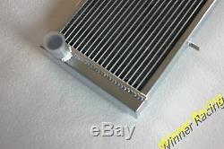Fit Tvr 2500m 2.5l 1972-1977 3000m 3.0l 1972-1974 M / T 56mm Radiateur En Aluminium