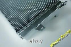 Fit Tvr Cerbera / Chimaera / Griffith V8 Moteur Aluminium Alloy Radiator 50mm