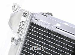 Fletcher Bmw Mini Cooper S R52 R53 1.6 Radiateur En Alliage D'aluminium À Double Noyau Z2212