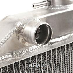 Ford Escort Mk2 1.6 Rs 1600 Radiateur De Course En Alliage D'aluminium À Double Cœur 50mm