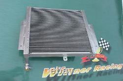 Haute Perf. Radiateur En Alliage D'aluminium 56mm Mazda Rx7/rx-7 Fc3s S5 Mt 1989-1991 90