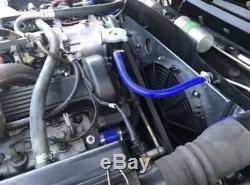 Jaguar Xjs Radiateur En Aluminium Équipée Avec Cowl Et Ventilateurs