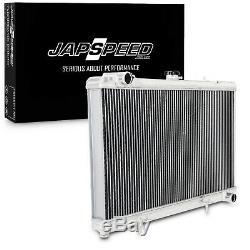 Japspeed 40mm En Aluminium Léger Radiateur Pour Nissan 180sx S13 Silvia Sr20det