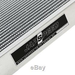 Japspeed 40mm Race High Flow Alliage Radiateur Rad Pour Mazda Rx8 Rx8 1.3 03-12