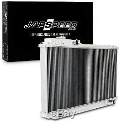 Japspeed 50 MM Alliage D'aluminium Radiateur De Course Pour Toyota Supra Mk4 Manuel Jza80