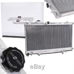 Japspeed Radiateur Alliage 40mm Rad Pour Subaru Impreza Newage Gda Gdb Wrx Sti 03-06