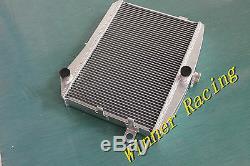 Le Radiateur D'alliage D'aluminium A Adapté Le Moteur Gt M / T 50mm De Volvo P1800 B18 B20 De Volvo
