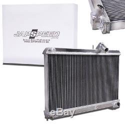Le Radiateur De Course D'alliage D'aluminium De Japspeed Pour Le Manuel Se17 De Mazda Rx-8 Rx8