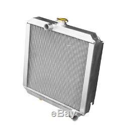 Le Radiateur En Aluminium De Course Convient Aux Véhicules Diesel / Essence 56mm De La Série 3 4cyl 2a De Land Rover
