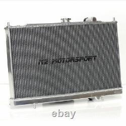 M2 Motorsport Mitsubishi Evo 4, 5 & 6 Rallye Aluminium Radiateur Rad Y3606