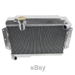 Mgb Radiateur En Aluminium 1962 1967 Alliages De Haute Qualité Bouchon De Vidange + Cap 456-881